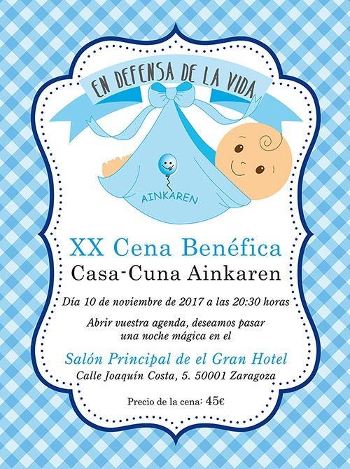 XX Cena Benéfica Casa Cuna Ainkaren