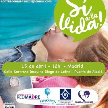 No te pierdas la Gran Marcha por la Vida que se va a celebrar el próximo 15 de abril en Madrid