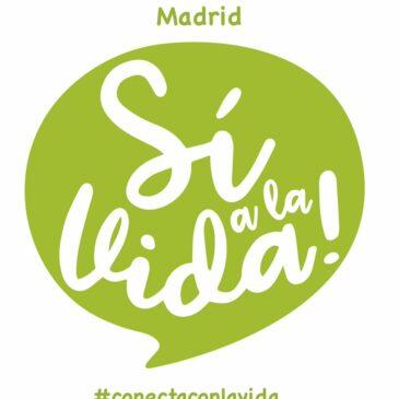 Madrid celebra el Día Internacional de la Vida y te invita a sumarte a la marcha que tendrá lugar el 24 de marzo