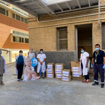 Casa Cuna Ainkaren recibe más de 600 productos de higiene y alimentación infantil de Cofares