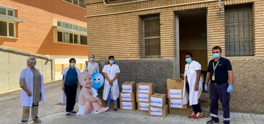 Donación de Cofares a la Casa Cuna Ainkaren