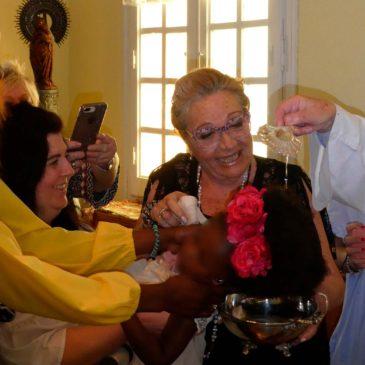 La casa-cuna Ainkaren se viste de gala para celebrar más de tres nuevos bautizos