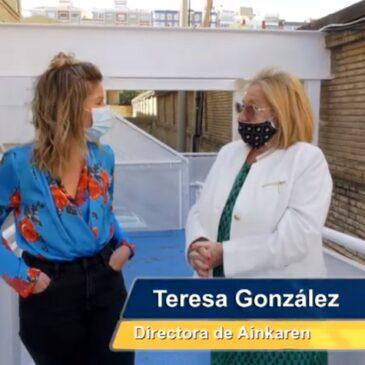 El equipo de Activos TV visita la Casa-Cuna Ainkaren para su programa 'Un Mundo Mejor'