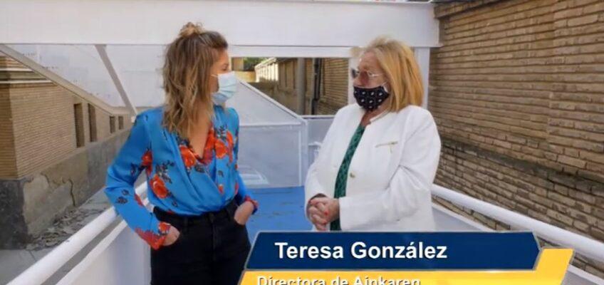 Activos TV de visita en la Casa Cuna Ainkaren