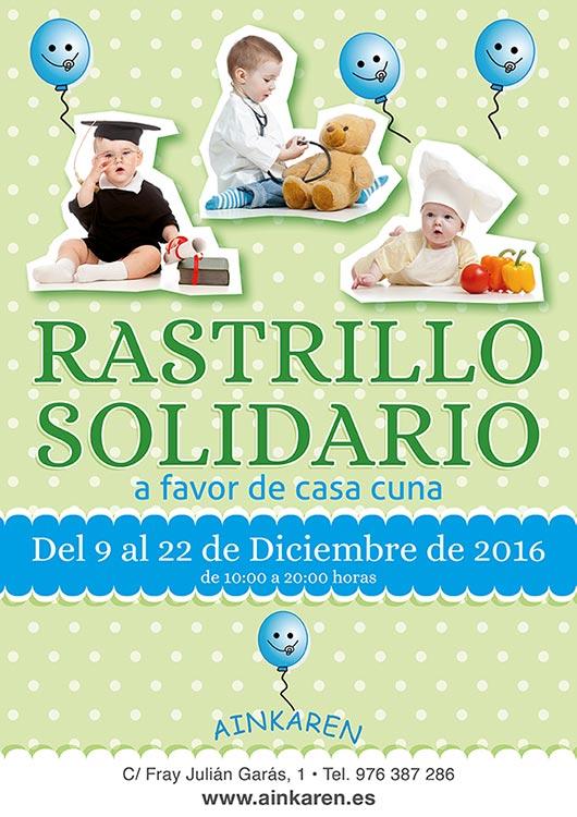 Cartel Rastrillo Solidario 2016