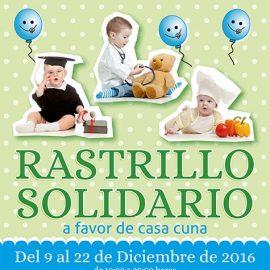 Rastrillo solidario 2016 a favor de Casa Cuna Ainkaren