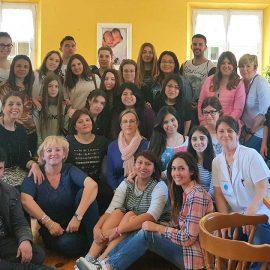 Visita del Curso de Enfermería del Colegio Santo Domingo de Silos