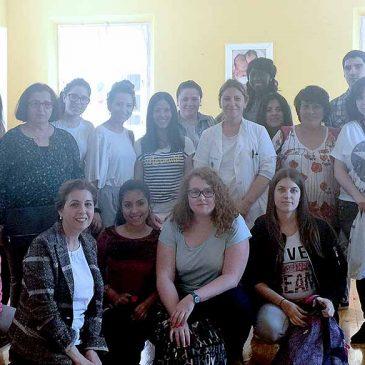 Visita del Curso de Enfermería del Colegio Santo Domingo de Silos 2017